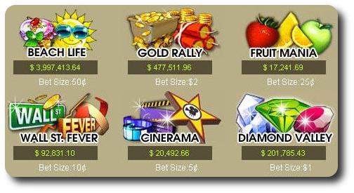 Jackpot progressivi Casino Tropez