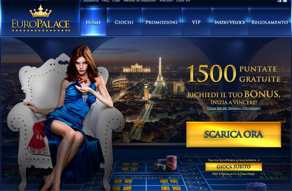 Europalace Casino Online