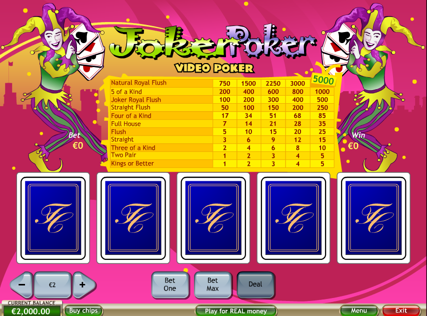 video-poker-joker