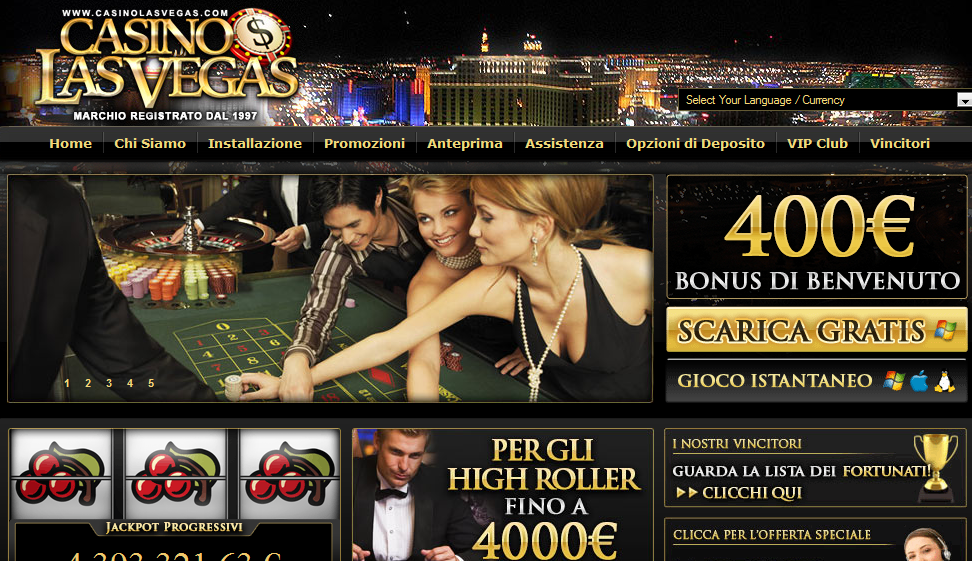 Divertiti con il Casino online di Las Vegas