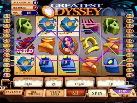 slot Machine Greatest Odyssey