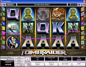 Slot Machine Tomb Raider