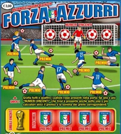 Gratta e Vinci Forza Azzurri