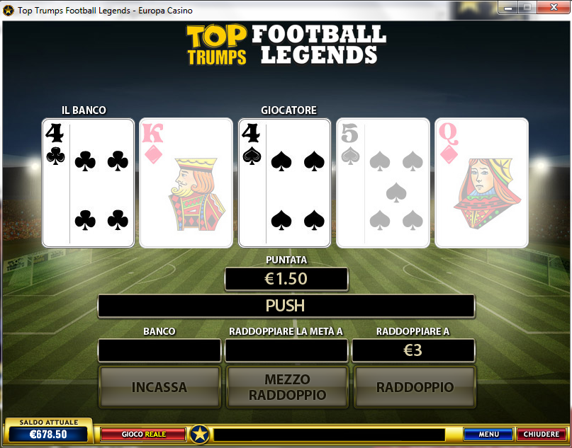 Slot machine calcio