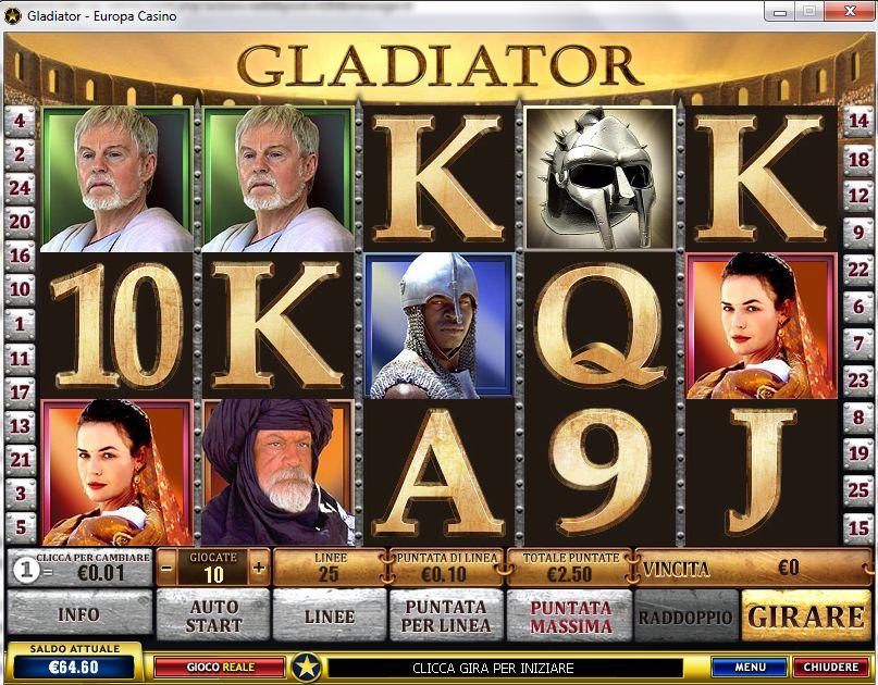 Slot il gladiatore