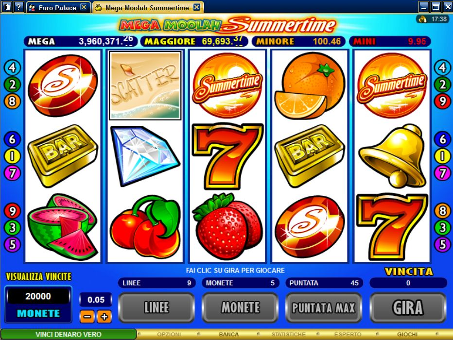Slot machine diamanti
