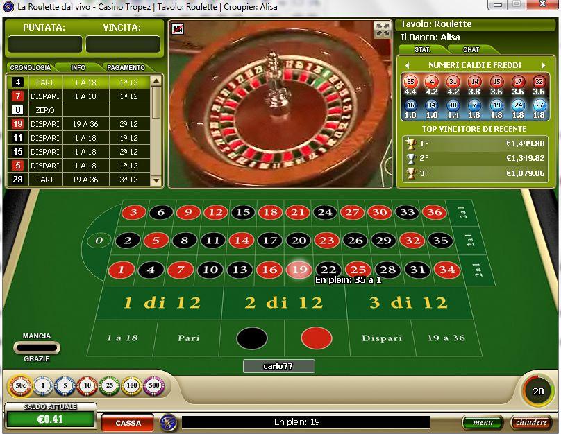Trucchi roulette online