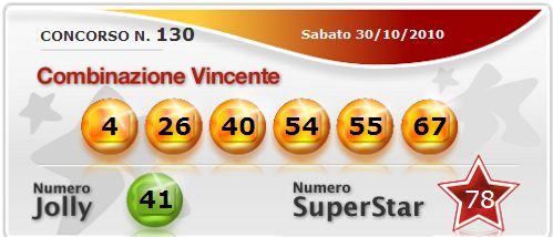 Quote vincita 10 e lotto