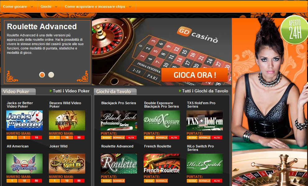 Casino on line non aams