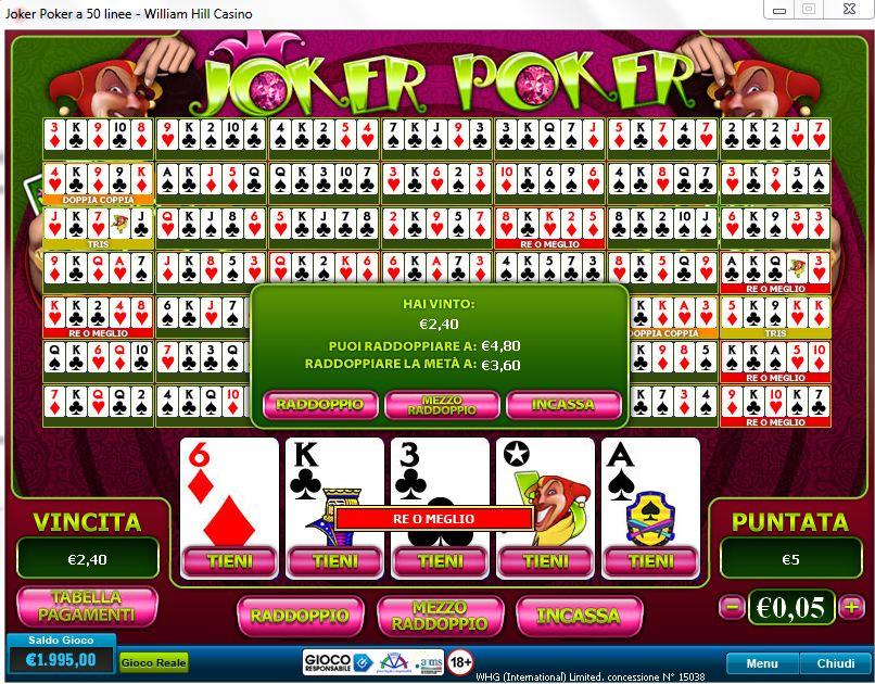 online merkur casino joker poker