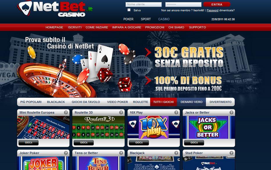 Siti poker bonus senza deposito