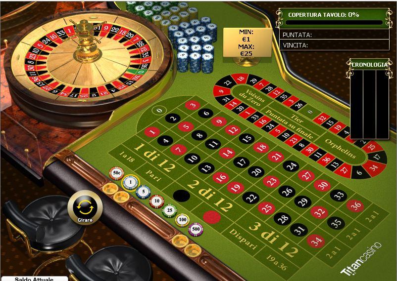 Gioca a Premium Roulette Pro su Casino.com Italia