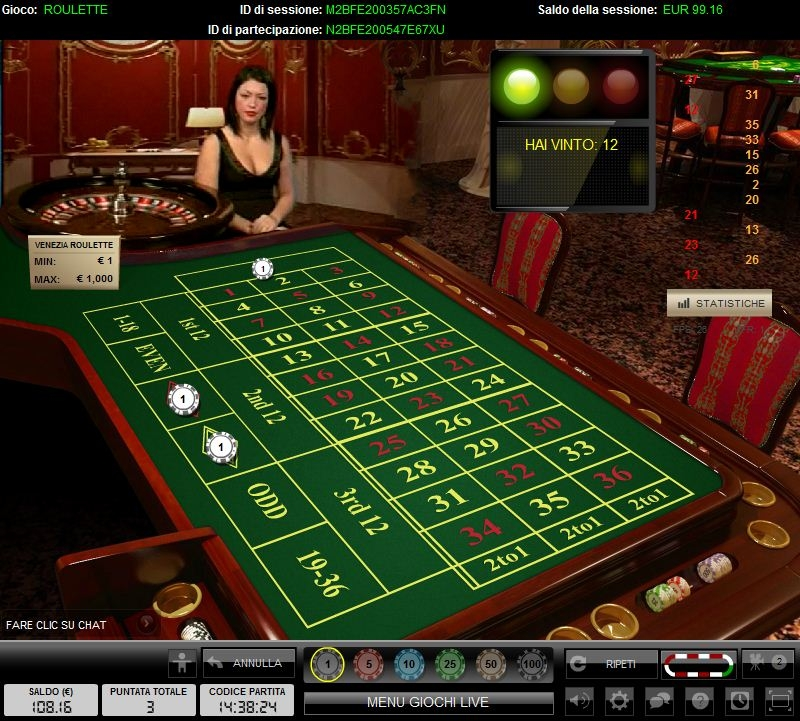 Roulette dal vivo truccate play baccarat online practice