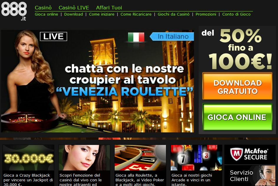 casino online italiani sizziling hot
