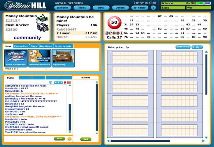 william hill log in