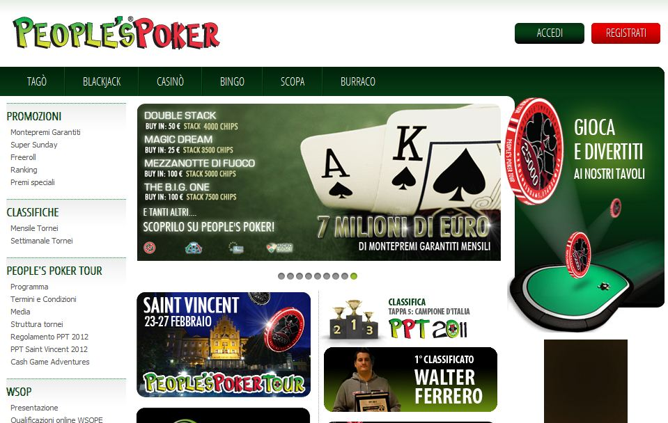 People s poker mobile