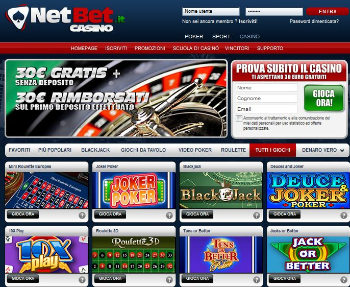 Netbet casino fun bonus
