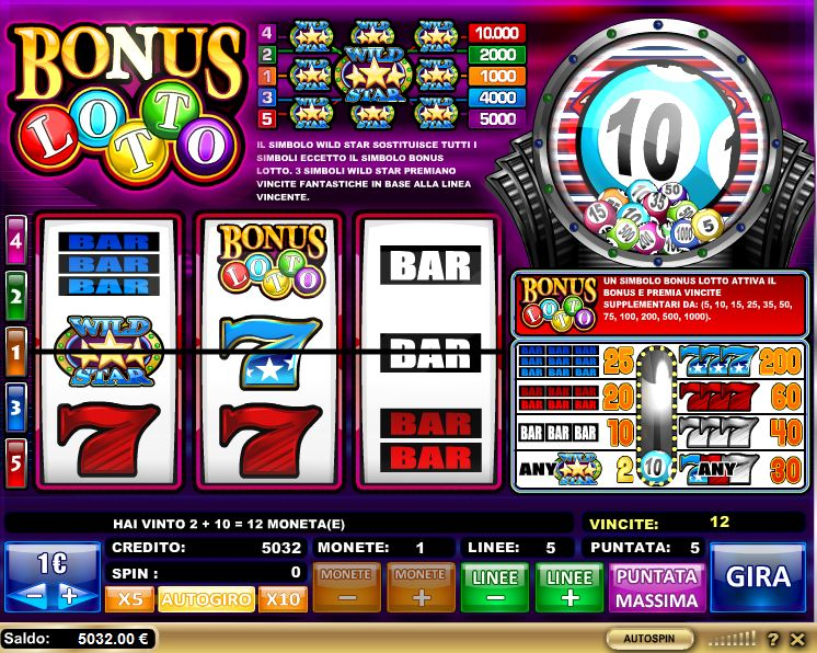 slot machine free bonus