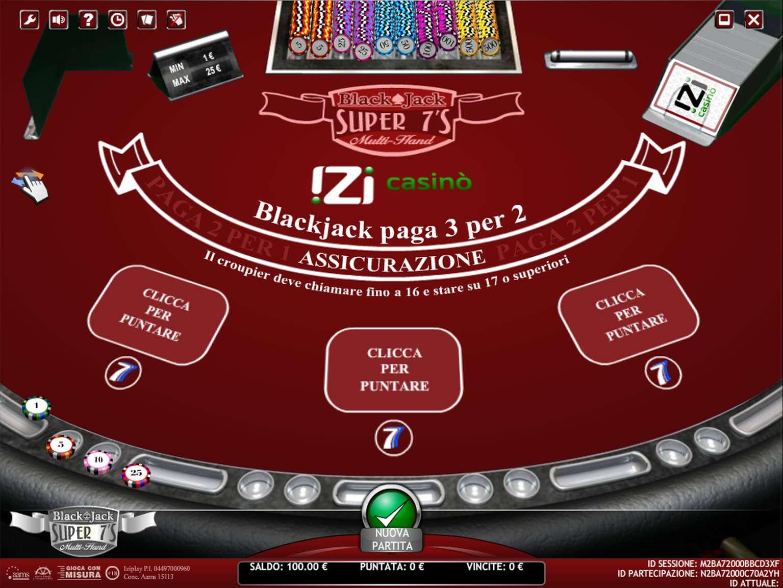 7 casino di gioco