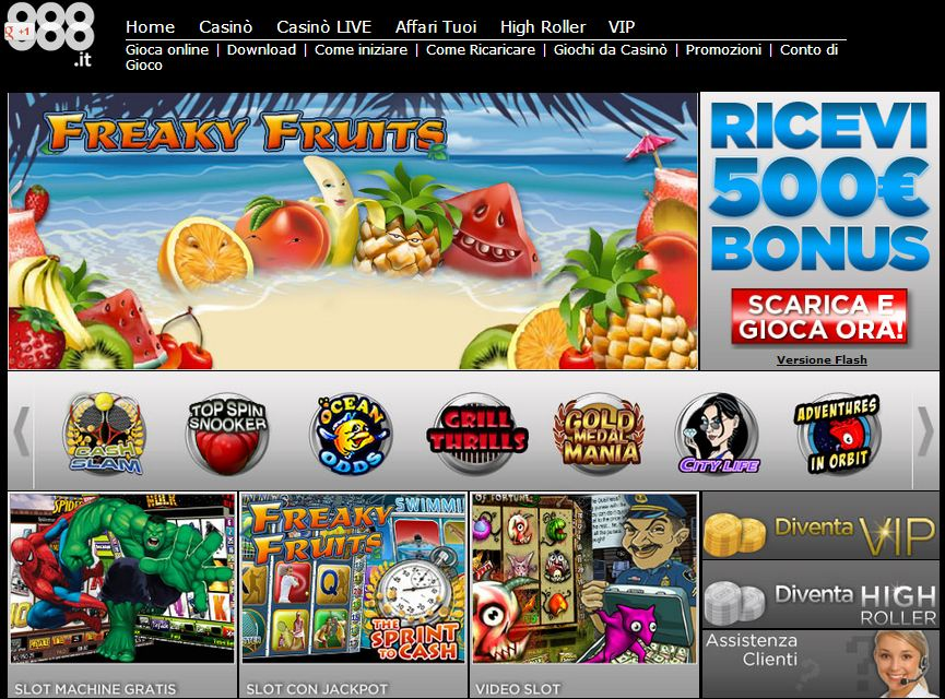 online casino 888 gaminator slot machines