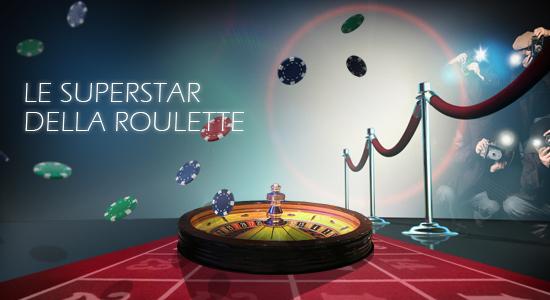 Vinci ricchi Bonus su PartyCasino grazie alla nuova promozione Le Superstar della Roulette.