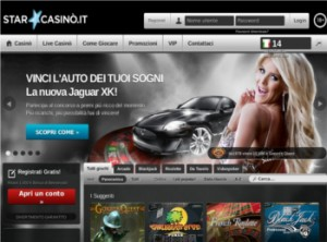 Vinci una Jaguar XK su StarCasinò