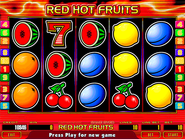 slot machine game online hot fruits kostenlos spielen