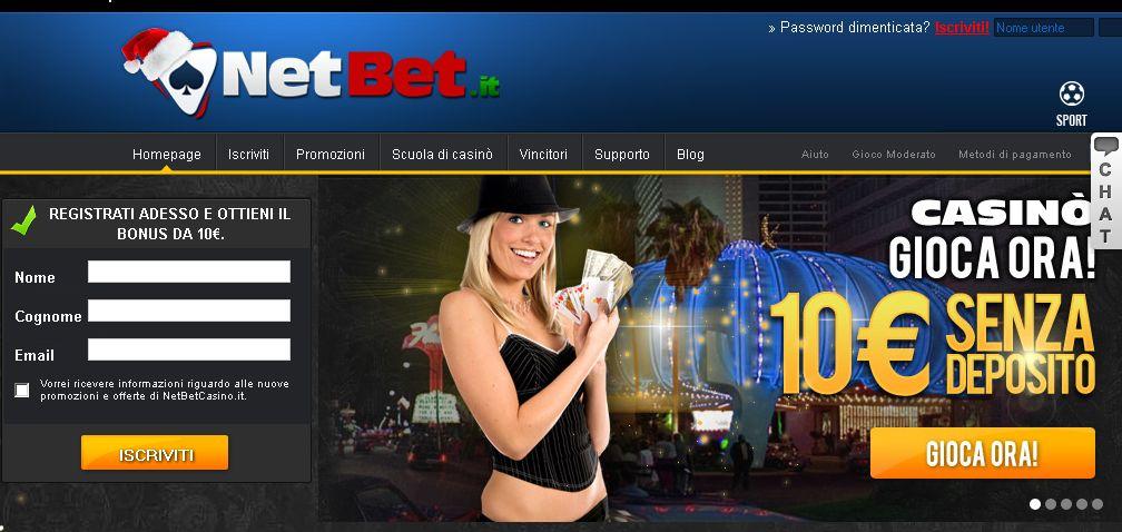 Casino online bonus senza deposito