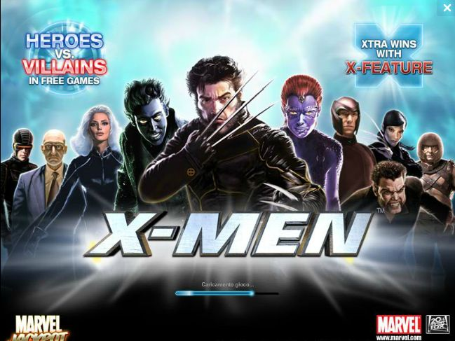slot machine Xmen