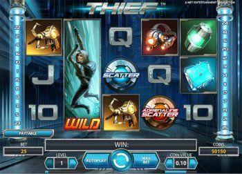 slot machine thief