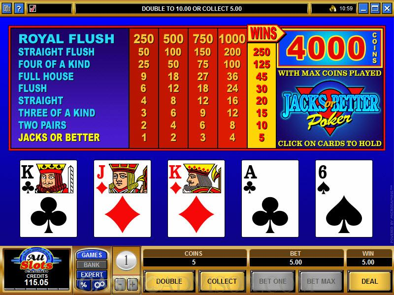 jacks-or-better-videopoker