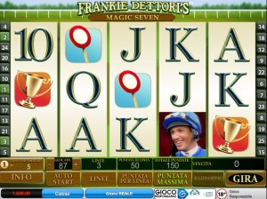 Slot Machine Frankie Dettori's Magic Seven, ecco la recensione completa.
