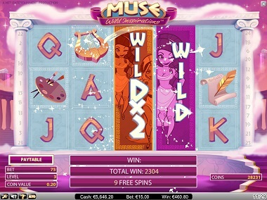 Muse-Slot-machine