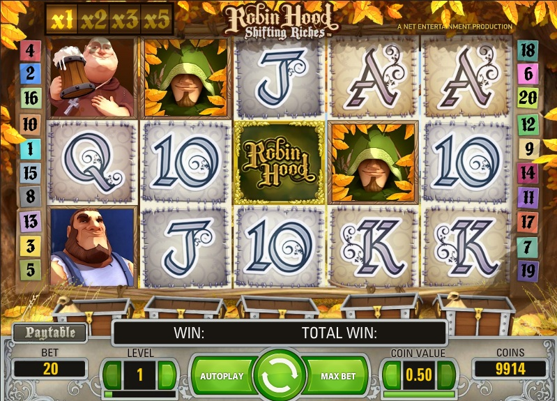 Robin-Hood-Shifting-Riches-slot