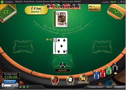 blackjack-classico