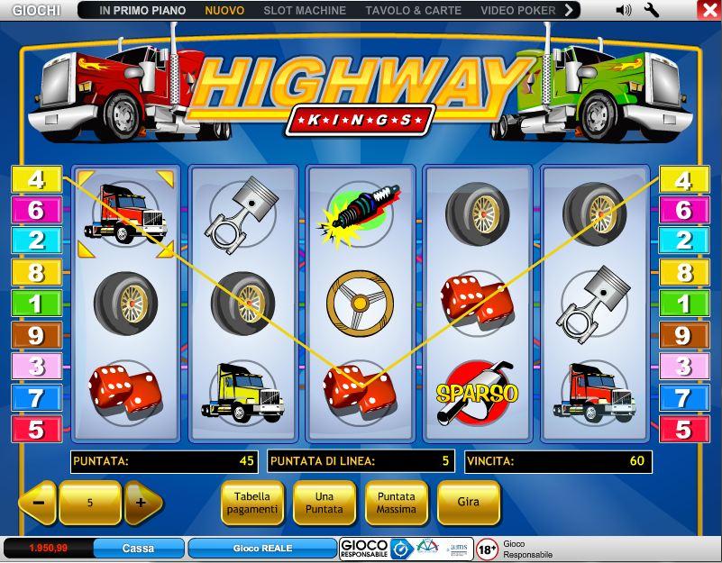 Gioca gratis alla slot machine Highway Kings - Recensione