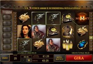 Recensione Slot Machine The Mummy - Gioca Gratis
