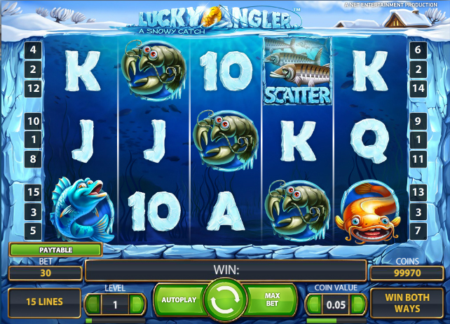 free online slots angler online