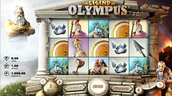 The-Legend-of-Olympus-slot-machine