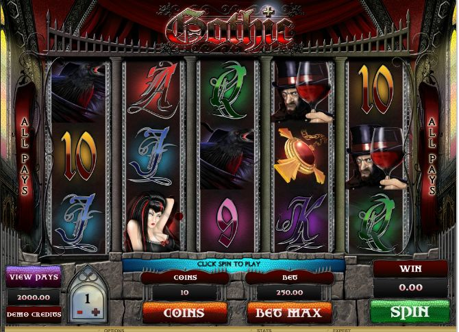 gothic-slot-machine