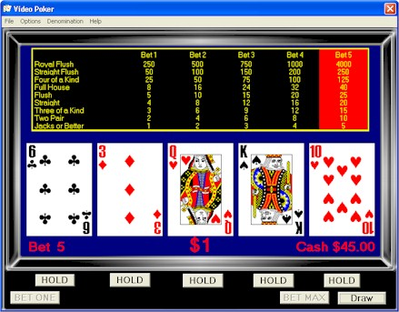 video-poker-come-giocare