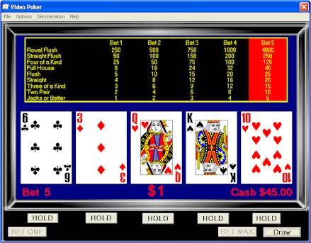 video-poker-come-giocare